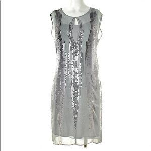 DEREK LAM 10 CROSBY Sequined Dress